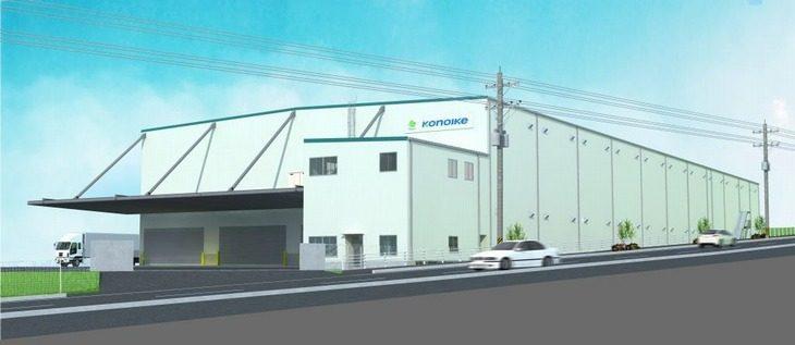 岡山に飲料用包資材の新拠点建設—鴻池運輸