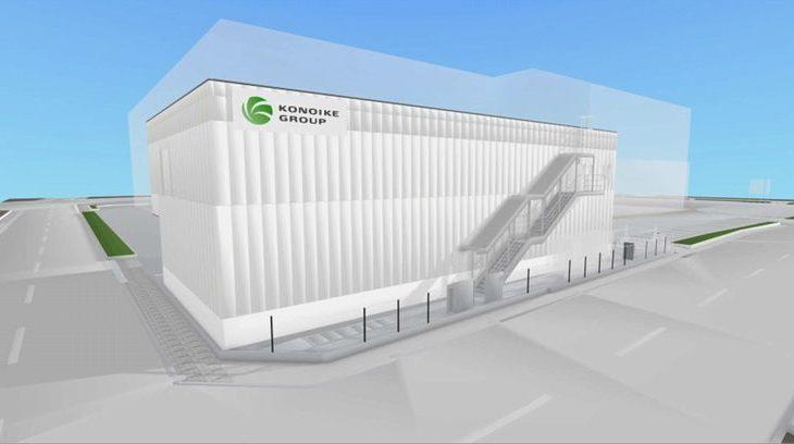 鴻池運輸、大阪木津市場内に食品加工場が完成