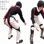 早大と旭蝶繊維、1分で装着可能な補助スーツを開発