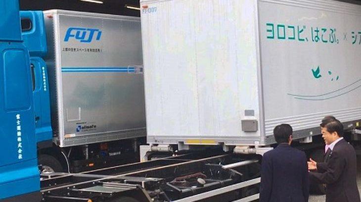 ニトリ、スワップボディコンテナ車で中継輸送を3月開始