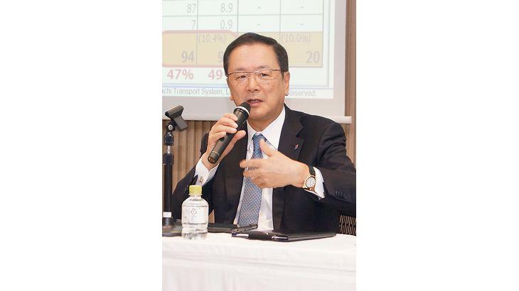 日立物流・中谷社長「SGHとの協業効果は通期で200億円に」