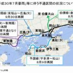 JR貨物、豪雨被害で輸送量163万3200トン減少