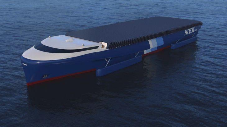日本郵船、環境負荷軽減・省エネのコンセプトシップを発表