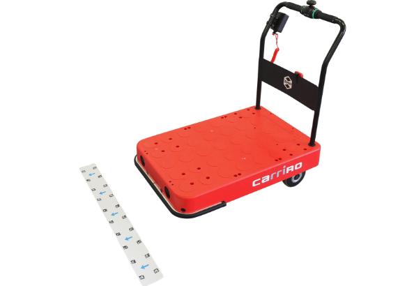 ZMP、台車型ロボット「キャリロ」の無人移動可能な新モデル出荷へ
