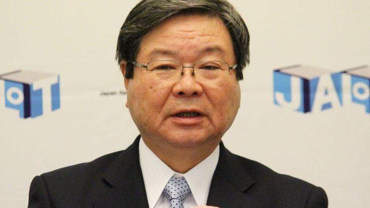 田村物流連会長、インフラの防災機能強化を引き続き国に訴え