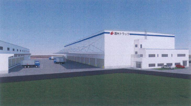 遠州トラックが浜松市内に新倉庫建設へ