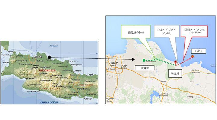 商船三井がインドネシアで浮体式LNG貯蔵設備を保有・操業