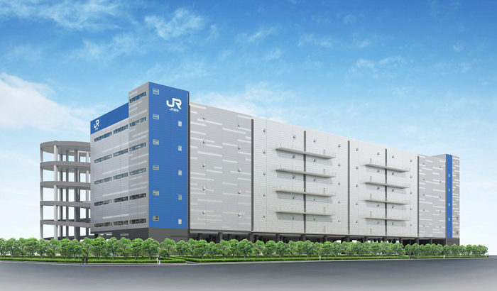 JR貨物の大型物流施設「レールゲートWEST」、グループの日本運輸倉庫が入居へ