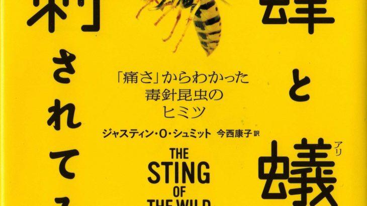 ビジネス書評・本棚からひとつかみ『蜂と蟻に刺されてみた』