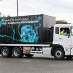 【動画】UDトラックス、自動運転トラックのデモ走行を公開