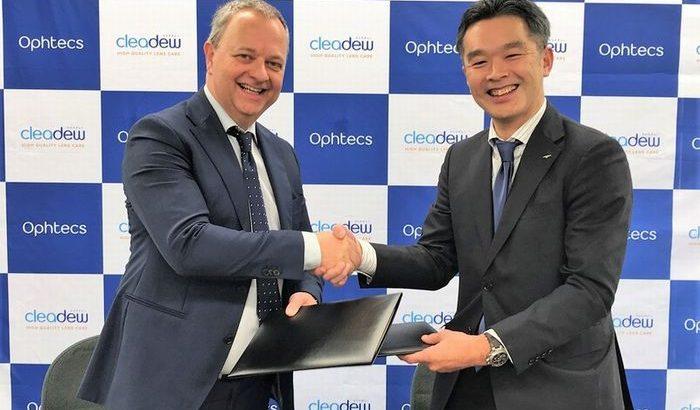 コンタクトレンズケア用品大手のオフテクス、オランダ企業買収
