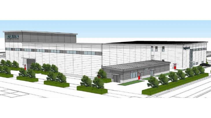 三菱ロジスネクストが滋賀工場内に新たな実験施設を建設