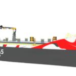 「ゼロエミッション」電気推進内航船のコンセプトモデル発表
