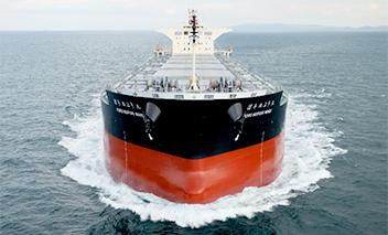 商船三井の北海道電力向け石炭専用船が完成