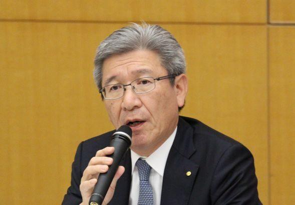 日通・石井副社長、医薬品業界向け共同物流拡大に意欲