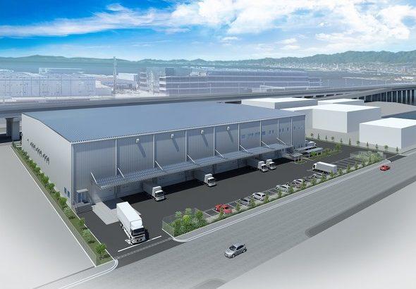 東洋建設、発祥の地・鳴尾浜で賃貸倉庫を自社開発