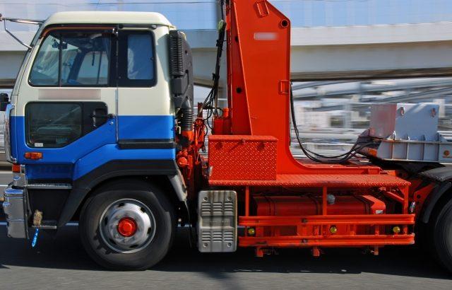 セミトレーラーでの幅広建設資材運搬規制を緩和