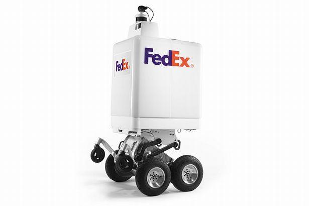 フェデックスが小売業向け自律式配達ロボットを開発