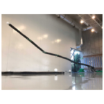 超長尺ロボットアーム、水平方向に10キログラムの物体保持成功