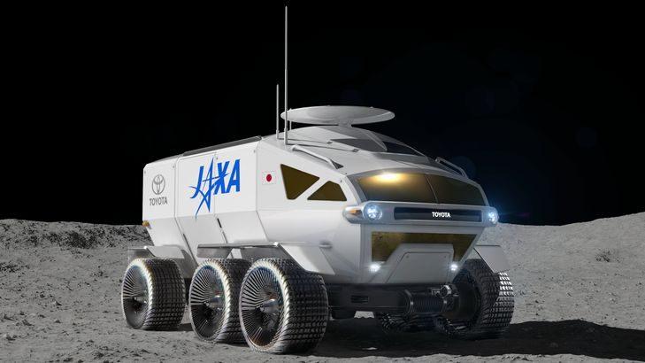 【動画】トヨタとJAXA、月面探査車の共同開発で合意