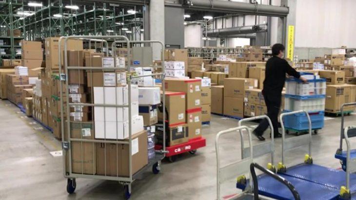 【動画】ZMPの物流支援ロボット、医療系企業が採用
