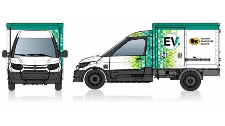 ヤマトとDHLグループが日本初の宅配特化小型EVトラックを共同開発