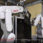 【動画】NTTロジスコ、レンタル機器の自動クリーニングロボット導入
