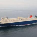 商船三井フェリーの新造RORO船「ぶぜん」が就航
