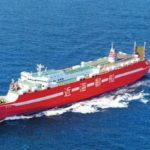 近海郵船が4月1日より敦賀~博多間の新定期航路を運航開始