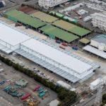 上組が名古屋港飛島ふ頭に複合倉庫を完成