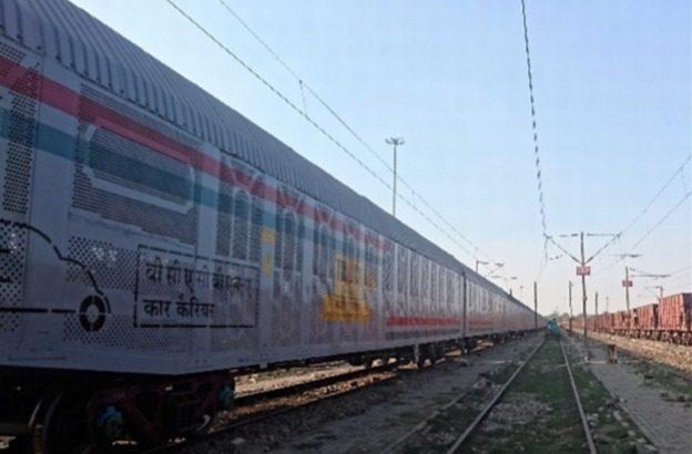 鴻池運輸がインドで自動車の鉄道輸送事業に参入