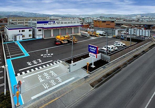 日通商事、車両整備拠点の長野新工場が完成