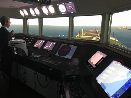 日本郵船が着岸支援システムを開発・特許出願