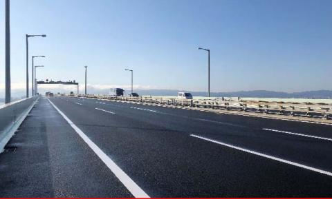 関空連絡橋が上下6車線へ完全復旧