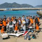 【動画】長崎・五島のドローン離島間無人物流、実証実験に成功