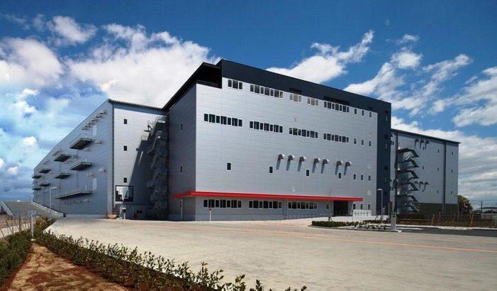 日鉄エンジがオリックス向けに埼玉・松伏町の物流施設を完成