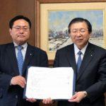 セイノーHDと北海道が物流効率化などで包括連携協定