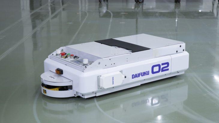 ダイフク、AGV向けワイヤレス充電システムの新型モデル発売