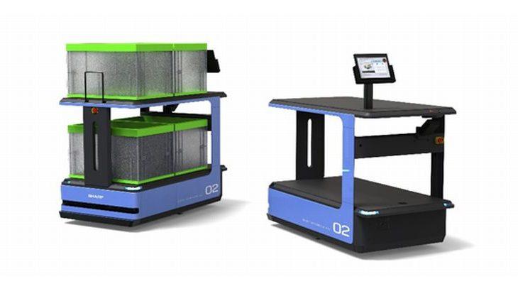 シャープ、医療機器商社のムトウにAGV17台納入
