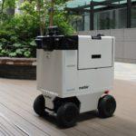 【動画】三菱地所が東京・丸の内のオフィス街で自動運搬ロボ実証実験