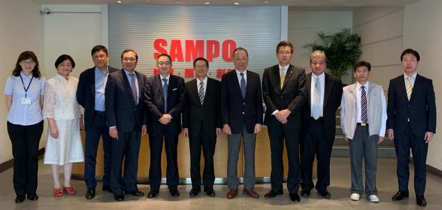 日新、台湾の物流大手SAMPOグループと合弁設立