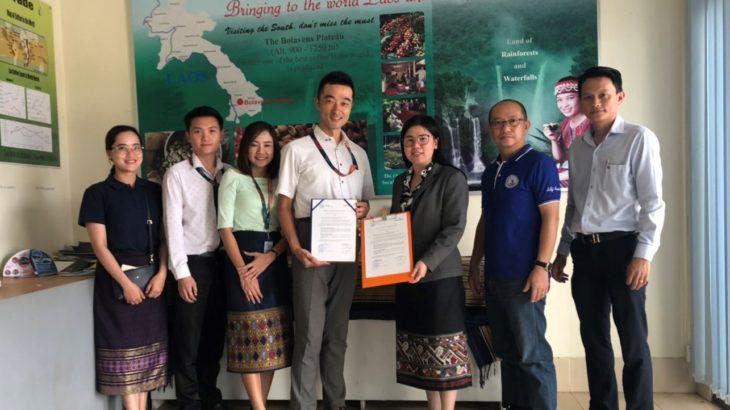 郵船ロジスティクス、ラオスコーヒー協会とパートナーシップ提携