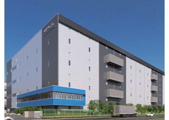 NTTロジスコ、千葉・市川で5・7万平方メートルの物流施設が20年3月完成へ