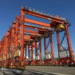 三井E&Sマシナリーが比向けに港湾クレーン16基受注