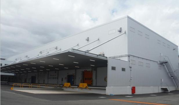 日本梱包運輸倉庫、熊本・菊陽町で3号倉庫が完成