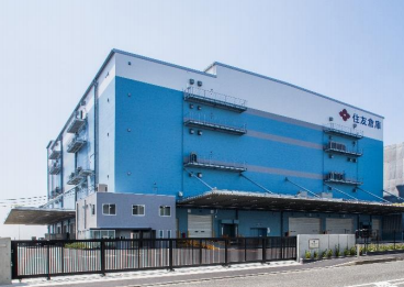 住友倉庫、横浜市の本牧埠頭で延べ床面積2万5394平方メートルの倉庫完成