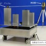 安藤ハザマとイクシス、建築現場向け自律走行ロボットを共同開発