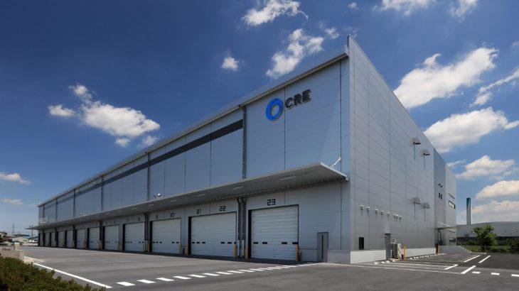 CRE、埼玉・川越で1万4786平方メートルの物流施設が完成