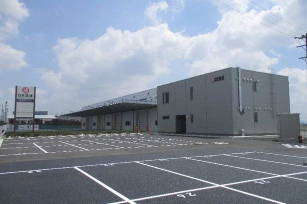 日通、愛知・刈谷で倉庫面積2664平方メートルの新拠点完成