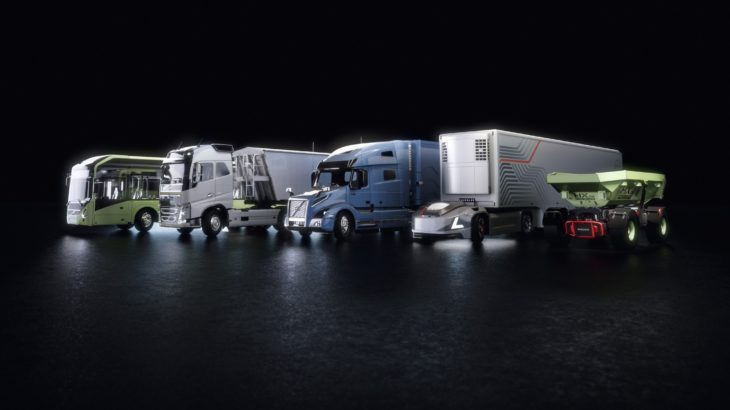 ボルボと米エヌビディア、自動運転トラック開発で提携